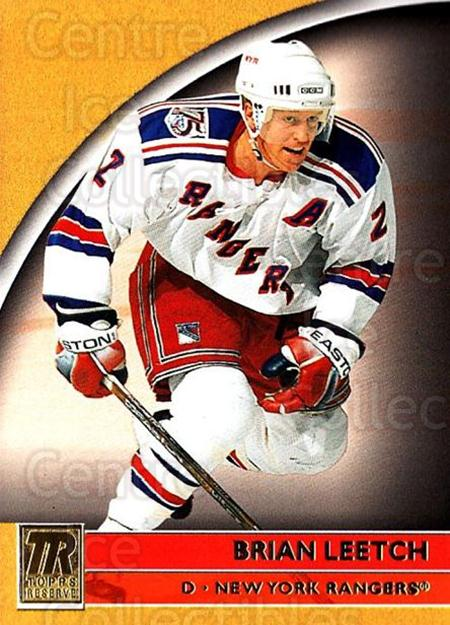 2001-02 Topps Reserve #44 Brian Leetch<br/>6 In Stock - $1.00 each - <a href=https://centericecollectibles.foxycart.com/cart?name=2001-02%20Topps%20Reserve%20%2344%20Brian%20Leetch...&quantity_max=6&price=$1.00&code=98099 class=foxycart> Buy it now! </a>