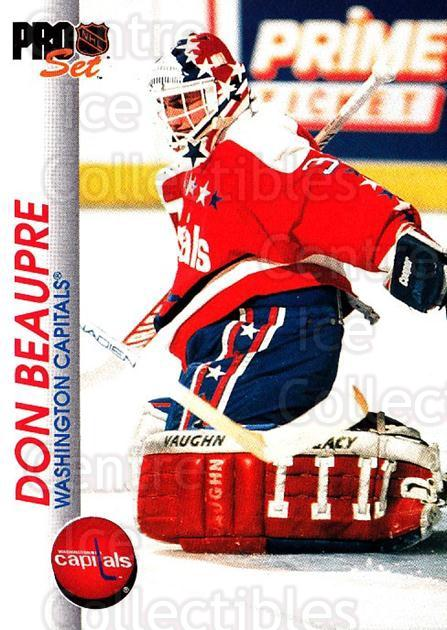 1992-93 Pro Set #206 Don Beaupre<br/>6 In Stock - $1.00 each - <a href=https://centericecollectibles.foxycart.com/cart?name=1992-93%20Pro%20Set%20%23206%20Don%20Beaupre...&quantity_max=6&price=$1.00&code=9809 class=foxycart> Buy it now! </a>