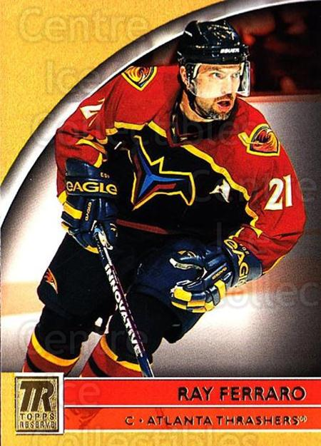 2001-02 Topps Reserve #50 Ray Ferraro<br/>4 In Stock - $1.00 each - <a href=https://centericecollectibles.foxycart.com/cart?name=2001-02%20Topps%20Reserve%20%2350%20Ray%20Ferraro...&quantity_max=4&price=$1.00&code=98106 class=foxycart> Buy it now! </a>