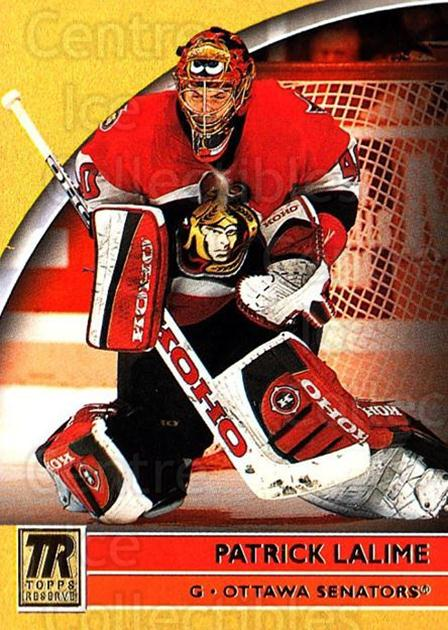 2001-02 Topps Reserve #57 Patrick Lalime<br/>1 In Stock - $1.00 each - <a href=https://centericecollectibles.foxycart.com/cart?name=2001-02%20Topps%20Reserve%20%2357%20Patrick%20Lalime...&quantity_max=1&price=$1.00&code=98112 class=foxycart> Buy it now! </a>