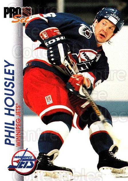 1992-93 Pro Set #212 Phil Housley<br/>3 In Stock - $1.00 each - <a href=https://centericecollectibles.foxycart.com/cart?name=1992-93%20Pro%20Set%20%23212%20Phil%20Housley...&quantity_max=3&price=$1.00&code=9816 class=foxycart> Buy it now! </a>