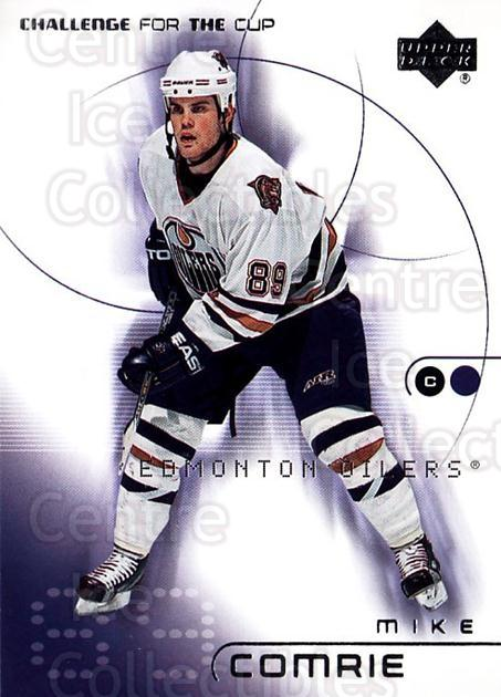 2001-02 UD Challenge for the Cup #32 Mike Comrie<br/>4 In Stock - $1.00 each - <a href=https://centericecollectibles.foxycart.com/cart?name=2001-02%20UD%20Challenge%20for%20the%20Cup%20%2332%20Mike%20Comrie...&quantity_max=4&price=$1.00&code=98258 class=foxycart> Buy it now! </a>