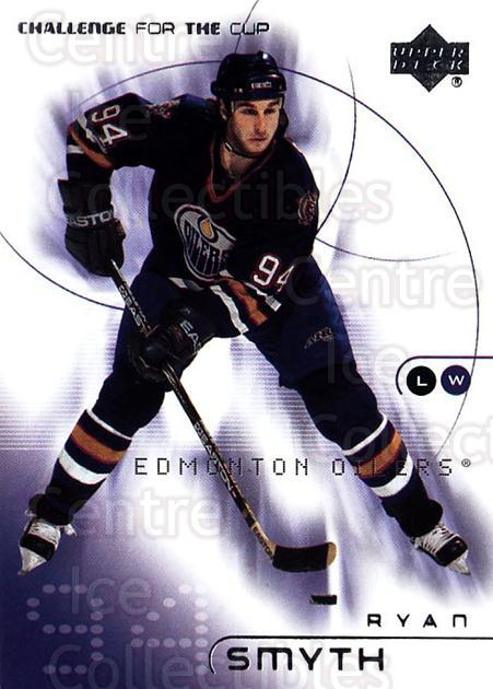 2001-02 UD Challenge for the Cup #33 Ryan Smyth<br/>5 In Stock - $1.00 each - <a href=https://centericecollectibles.foxycart.com/cart?name=2001-02%20UD%20Challenge%20for%20the%20Cup%20%2333%20Ryan%20Smyth...&quantity_max=5&price=$1.00&code=98259 class=foxycart> Buy it now! </a>
