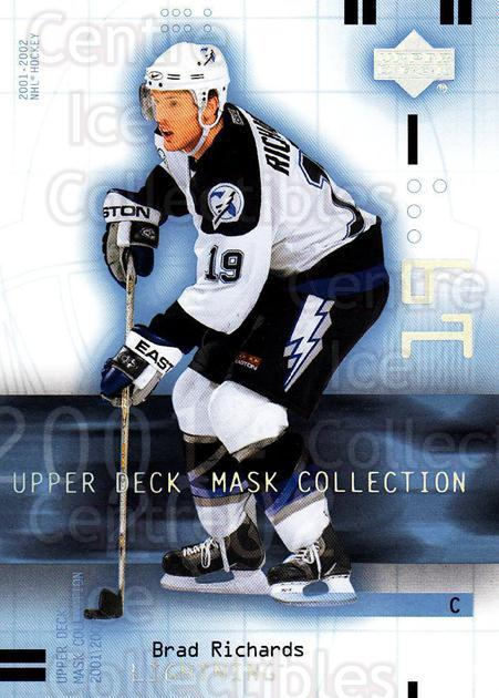 2001-02 UD Mask Collection #88 Brad Richards<br/>6 In Stock - $1.00 each - <a href=https://centericecollectibles.foxycart.com/cart?name=2001-02%20UD%20Mask%20Collection%20%2388%20Brad%20Richards...&quantity_max=6&price=$1.00&code=98454 class=foxycart> Buy it now! </a>