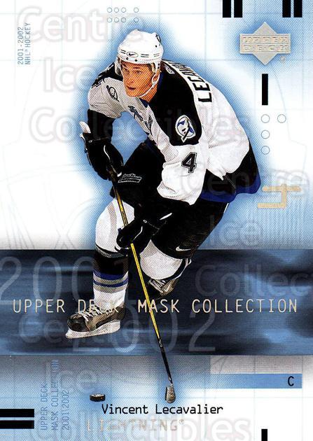 2001-02 UD Mask Collection #89 Vincent Lecavalier<br/>6 In Stock - $1.00 each - <a href=https://centericecollectibles.foxycart.com/cart?name=2001-02%20UD%20Mask%20Collection%20%2389%20Vincent%20Lecaval...&quantity_max=6&price=$1.00&code=98455 class=foxycart> Buy it now! </a>