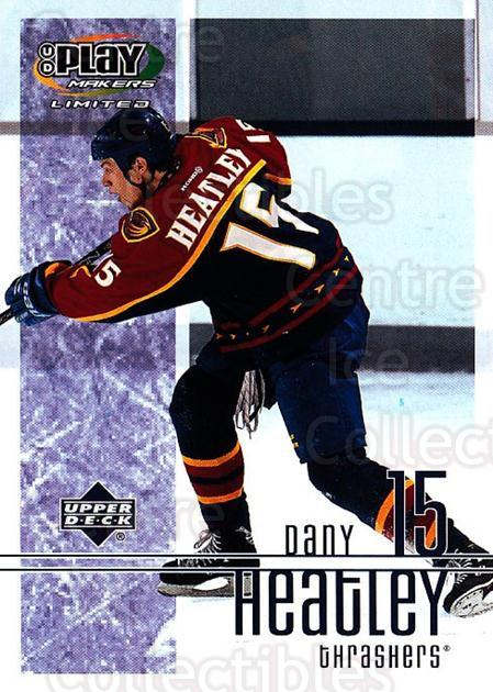 2001-02 UD Playmakers #6 Dany Heatley<br/>6 In Stock - $1.00 each - <a href=https://centericecollectibles.foxycart.com/cart?name=2001-02%20UD%20Playmakers%20%236%20Dany%20Heatley...&quantity_max=6&price=$1.00&code=98556 class=foxycart> Buy it now! </a>