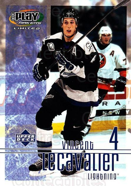 2001-02 UD Playmakers #88 Vincent Lecavalier<br/>7 In Stock - $1.00 each - <a href=https://centericecollectibles.foxycart.com/cart?name=2001-02%20UD%20Playmakers%20%2388%20Vincent%20Lecaval...&quantity_max=7&price=$1.00&code=98586 class=foxycart> Buy it now! </a>