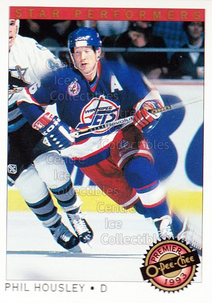 1992-93 OPC Premier Star Performers #16 Phil Housley<br/>7 In Stock - $1.00 each - <a href=https://centericecollectibles.foxycart.com/cart?name=1992-93%20OPC%20Premier%20Star%20Performers%20%2316%20Phil%20Housley...&quantity_max=7&price=$1.00&code=9860 class=foxycart> Buy it now! </a>