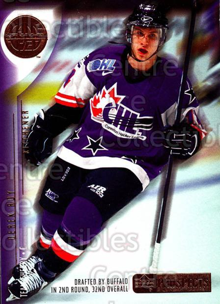 2001-02 UD CHL Prospects #11 Derek Roy<br/>2 In Stock - $2.00 each - <a href=https://centericecollectibles.foxycart.com/cart?name=2001-02%20UD%20CHL%20Prospects%20%2311%20Derek%20Roy...&quantity_max=2&price=$2.00&code=98645 class=foxycart> Buy it now! </a>