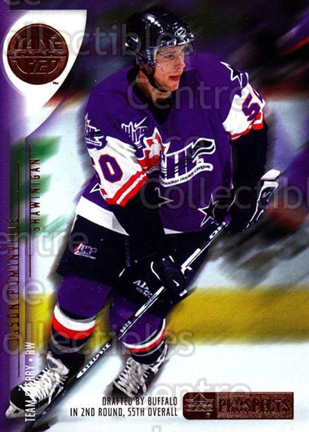 2001-02 UD CHL Prospects #19 Jason Pominville<br/>1 In Stock - $2.00 each - <a href=https://centericecollectibles.foxycart.com/cart?name=2001-02%20UD%20CHL%20Prospects%20%2319%20Jason%20Pominvill...&quantity_max=1&price=$2.00&code=98653 class=foxycart> Buy it now! </a>