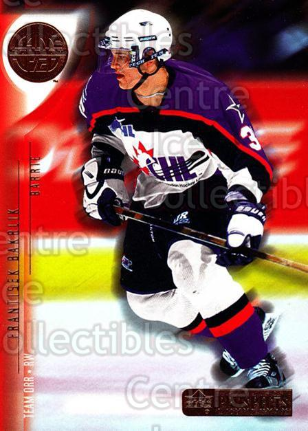 2001-02 UD CHL Prospects #38 Frantisek Bakrlik<br/>1 In Stock - $2.00 each - <a href=https://centericecollectibles.foxycart.com/cart?name=2001-02%20UD%20CHL%20Prospects%20%2338%20Frantisek%20Bakrl...&price=$2.00&code=98672 class=foxycart> Buy it now! </a>
