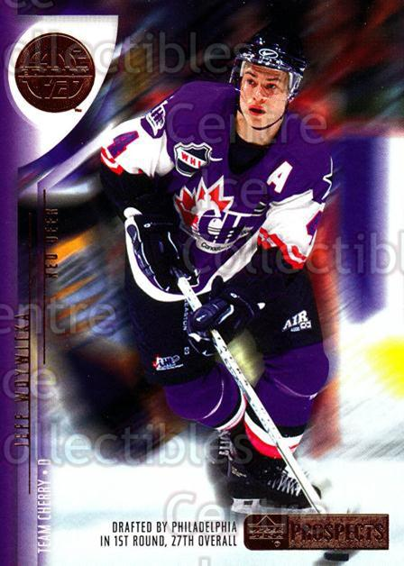 2001-02 UD CHL Prospects #4 Jeff Woywitka<br/>3 In Stock - $2.00 each - <a href=https://centericecollectibles.foxycart.com/cart?name=2001-02%20UD%20CHL%20Prospects%20%234%20Jeff%20Woywitka...&price=$2.00&code=98674 class=foxycart> Buy it now! </a>
