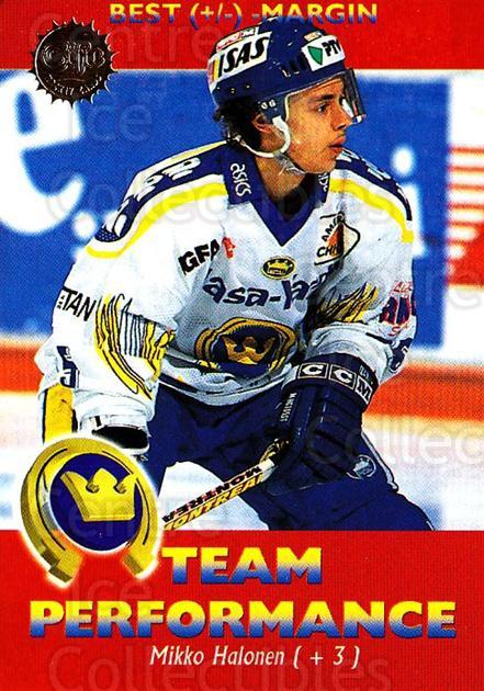 1994-95 Finnish SISU #172 Mikko Halonen<br/>3 In Stock - $2.00 each - <a href=https://centericecollectibles.foxycart.com/cart?name=1994-95%20Finnish%20SISU%20%23172%20Mikko%20Halonen...&quantity_max=3&price=$2.00&code=987 class=foxycart> Buy it now! </a>