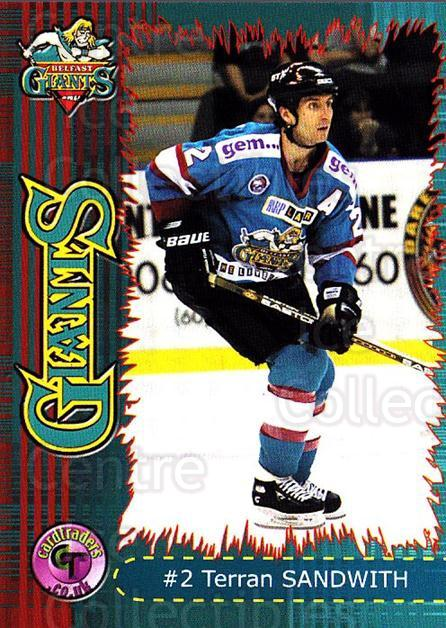 2001-02 UK British Elite Belfast Giants #2 Terran Sandwith<br/>1 In Stock - $2.00 each - <a href=https://centericecollectibles.foxycart.com/cart?name=2001-02%20UK%20British%20Elite%20Belfast%20Giants%20%232%20Terran%20Sandwith...&price=$2.00&code=98833 class=foxycart> Buy it now! </a>