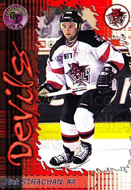 2001-02 UK British Elite Cardiff Devils #2 Rick Strachan<br/>7 In Stock - $3.00 each - <a href=https://centericecollectibles.foxycart.com/cart?name=2001-02%20UK%20British%20Elite%20Cardiff%20Devils%20%232%20Rick%20Strachan...&quantity_max=7&price=$3.00&code=98865 class=foxycart> Buy it now! </a>