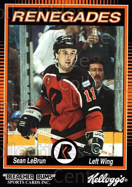 1992-93 Richmond Renegades #11 Sean LeBrun<br/>6 In Stock - $3.00 each - <a href=https://centericecollectibles.foxycart.com/cart?name=1992-93%20Richmond%20Renegades%20%2311%20Sean%20LeBrun...&quantity_max=6&price=$3.00&code=9887 class=foxycart> Buy it now! </a>