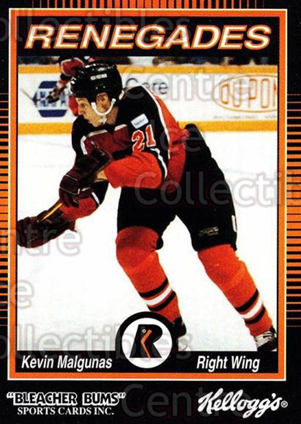 1992-93 Richmond Renegades #12 Kevin Malgunas<br/>7 In Stock - $3.00 each - <a href=https://centericecollectibles.foxycart.com/cart?name=1992-93%20Richmond%20Renegades%20%2312%20Kevin%20Malgunas...&quantity_max=7&price=$3.00&code=9888 class=foxycart> Buy it now! </a>