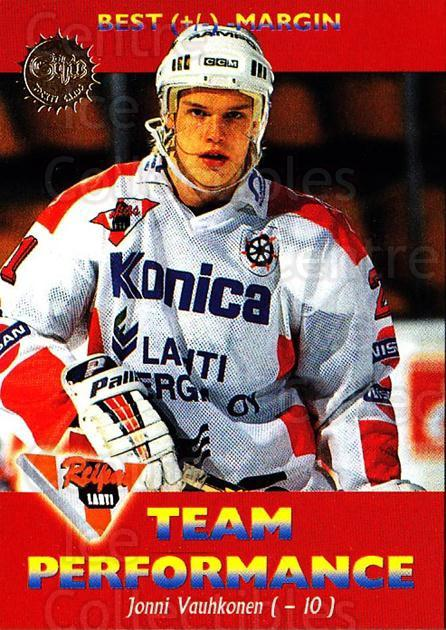1994-95 Finnish SISU #174 Jouni Vauhkonen<br/>4 In Stock - $2.00 each - <a href=https://centericecollectibles.foxycart.com/cart?name=1994-95%20Finnish%20SISU%20%23174%20Jouni%20Vauhkonen...&quantity_max=4&price=$2.00&code=988 class=foxycart> Buy it now! </a>