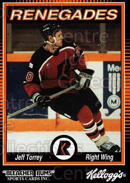 1992-93 Richmond Renegades #19 Jeff Torrey<br/>5 In Stock - $3.00 each - <a href=https://centericecollectibles.foxycart.com/cart?name=1992-93%20Richmond%20Renegades%20%2319%20Jeff%20Torrey...&quantity_max=5&price=$3.00&code=9894 class=foxycart> Buy it now! </a>