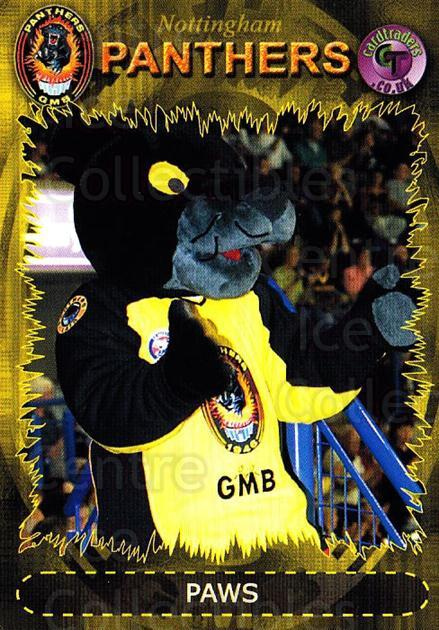 2001-02 UK British Elite Nottingham Panthers #26 Mascot<br/>7 In Stock - $3.00 each - <a href=https://centericecollectibles.foxycart.com/cart?name=2001-02%20UK%20British%20Elite%20Nottingham%20Panthers%20%2326%20Mascot...&quantity_max=7&price=$3.00&code=98965 class=foxycart> Buy it now! </a>