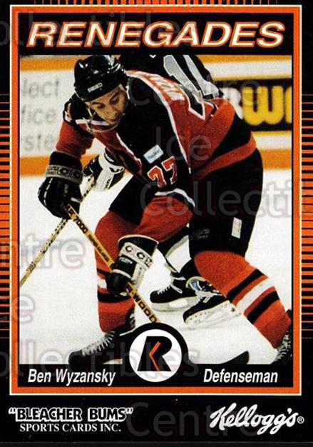 1992-93 Richmond Renegades #20 Ben Wyzansky<br/>7 In Stock - $3.00 each - <a href=https://centericecollectibles.foxycart.com/cart?name=1992-93%20Richmond%20Renegades%20%2320%20Ben%20Wyzansky...&quantity_max=7&price=$3.00&code=9896 class=foxycart> Buy it now! </a>
