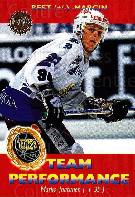 1994-95 Finnish SISU #176 Marko Jantunen<br/>4 In Stock - $2.00 each - <a href=https://centericecollectibles.foxycart.com/cart?name=1994-95%20Finnish%20SISU%20%23176%20Marko%20Jantunen...&quantity_max=4&price=$2.00&code=989 class=foxycart> Buy it now! </a>