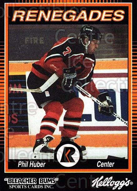 1992-93 Richmond Renegades #7 Phil Huber<br/>6 In Stock - $3.00 each - <a href=https://centericecollectibles.foxycart.com/cart?name=1992-93%20Richmond%20Renegades%20%237%20Phil%20Huber...&quantity_max=6&price=$3.00&code=9901 class=foxycart> Buy it now! </a>