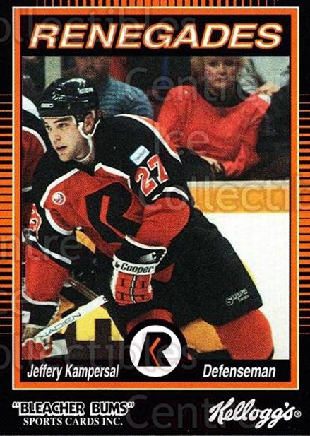 1992-93 Richmond Renegades #9 Jeff Kampersal<br/>4 In Stock - $3.00 each - <a href=https://centericecollectibles.foxycart.com/cart?name=1992-93%20Richmond%20Renegades%20%239%20Jeff%20Kampersal...&quantity_max=4&price=$3.00&code=9903 class=foxycart> Buy it now! </a>