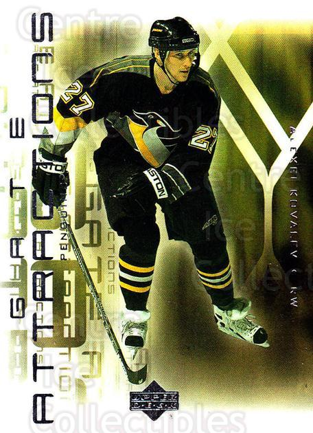 2001-02 Upper Deck Gate Attractions #6 Alexei Kovalev<br/>3 In Stock - $2.00 each - <a href=https://centericecollectibles.foxycart.com/cart?name=2001-02%20Upper%20Deck%20Gate%20Attractions%20%236%20Alexei%20Kovalev...&quantity_max=3&price=$2.00&code=99040 class=foxycart> Buy it now! </a>