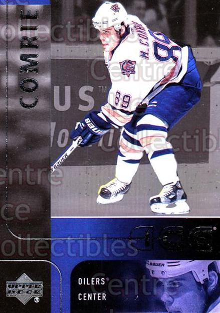 2001-02 UD Ice #19 Mike Comrie<br/>6 In Stock - $1.00 each - <a href=https://centericecollectibles.foxycart.com/cart?name=2001-02%20UD%20Ice%20%2319%20Mike%20Comrie...&quantity_max=6&price=$1.00&code=99167 class=foxycart> Buy it now! </a>