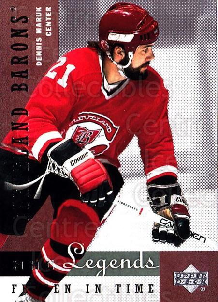 2001-02 Upper Deck Legends #71 Dennis Maruk<br/>8 In Stock - $2.00 each - <a href=https://centericecollectibles.foxycart.com/cart?name=2001-02%20Upper%20Deck%20Legends%20%2371%20Dennis%20Maruk...&quantity_max=8&price=$2.00&code=99276 class=foxycart> Buy it now! </a>