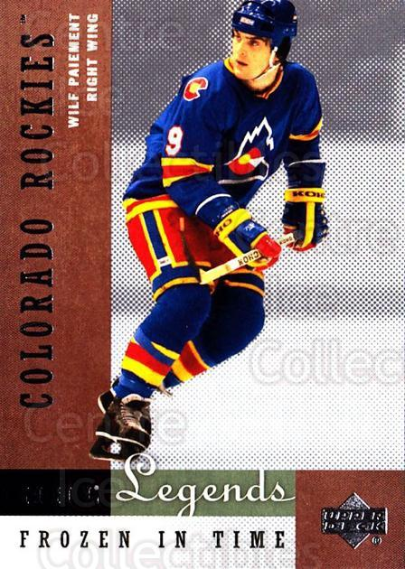 2001-02 Upper Deck Legends #72 Wilf Paiement<br/>3 In Stock - $2.00 each - <a href=https://centericecollectibles.foxycart.com/cart?name=2001-02%20Upper%20Deck%20Legends%20%2372%20Wilf%20Paiement...&quantity_max=3&price=$2.00&code=99277 class=foxycart> Buy it now! </a>