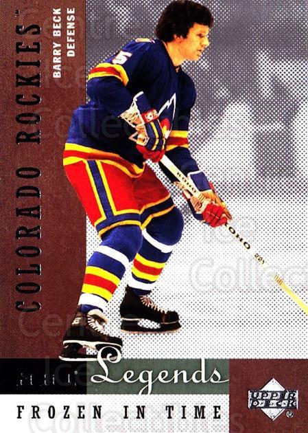2001-02 Upper Deck Legends #73 Barry Beck<br/>8 In Stock - $2.00 each - <a href=https://centericecollectibles.foxycart.com/cart?name=2001-02%20Upper%20Deck%20Legends%20%2373%20Barry%20Beck...&quantity_max=8&price=$2.00&code=99278 class=foxycart> Buy it now! </a>