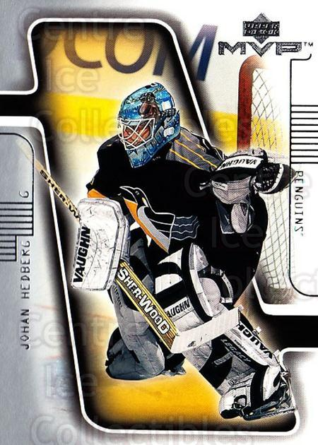 2001-02 Upper Deck MVP #152 Johan Hedberg<br/>4 In Stock - $1.00 each - <a href=https://centericecollectibles.foxycart.com/cart?name=2001-02%20Upper%20Deck%20MVP%20%23152%20Johan%20Hedberg...&quantity_max=4&price=$1.00&code=99366 class=foxycart> Buy it now! </a>