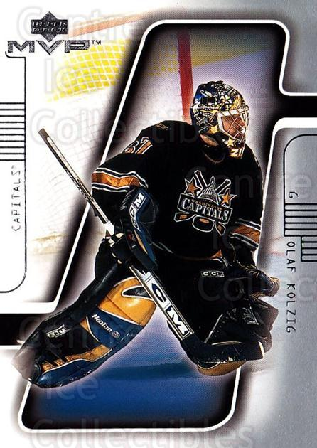 2001-02 Upper Deck MVP #187 Olaf Kolzig<br/>4 In Stock - $1.00 each - <a href=https://centericecollectibles.foxycart.com/cart?name=2001-02%20Upper%20Deck%20MVP%20%23187%20Olaf%20Kolzig...&quantity_max=4&price=$1.00&code=99404 class=foxycart> Buy it now! </a>