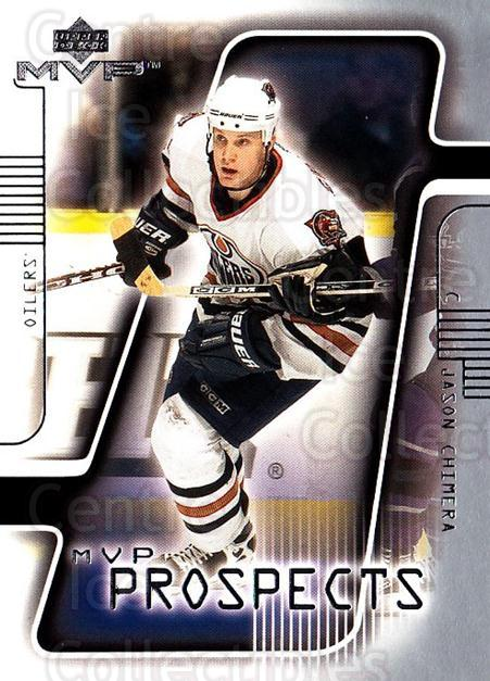 2001-02 Upper Deck MVP #201 Jason Chimera<br/>2 In Stock - $1.00 each - <a href=https://centericecollectibles.foxycart.com/cart?name=2001-02%20Upper%20Deck%20MVP%20%23201%20Jason%20Chimera...&quantity_max=2&price=$1.00&code=99421 class=foxycart> Buy it now! </a>