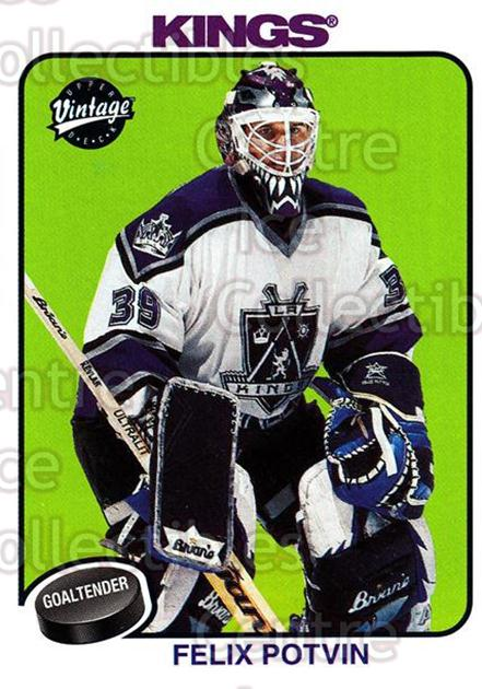 2001-02 UD Vintage #115 Felix Potvin<br/>7 In Stock - $1.00 each - <a href=https://centericecollectibles.foxycart.com/cart?name=2001-02%20UD%20Vintage%20%23115%20Felix%20Potvin...&quantity_max=7&price=$1.00&code=99724 class=foxycart> Buy it now! </a>