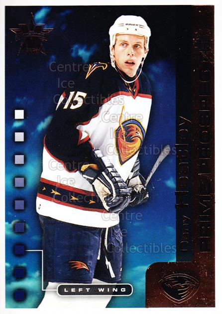 2001-02 Vanguard Prime Prospects #1 Dany Heatley<br/>3 In Stock - $2.00 each - <a href=https://centericecollectibles.foxycart.com/cart?name=2001-02%20Vanguard%20Prime%20Prospects%20%231%20Dany%20Heatley...&quantity_max=3&price=$2.00&code=99937 class=foxycart> Buy it now! </a>