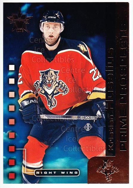 2001-02 Vanguard Prime Prospects #7 Kristian Huselius<br/>3 In Stock - $2.00 each - <a href=https://centericecollectibles.foxycart.com/cart?name=2001-02%20Vanguard%20Prime%20Prospects%20%237%20Kristian%20Huseli...&quantity_max=3&price=$2.00&code=99952 class=foxycart> Buy it now! </a>