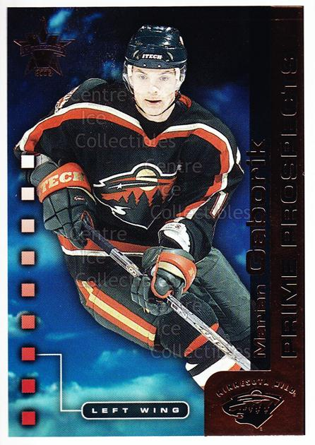 2001-02 Vanguard Prime Prospects #9 Marian Gaborik<br/>3 In Stock - $2.00 each - <a href=https://centericecollectibles.foxycart.com/cart?name=2001-02%20Vanguard%20Prime%20Prospects%20%239%20Marian%20Gaborik...&quantity_max=3&price=$2.00&code=99954 class=foxycart> Buy it now! </a>