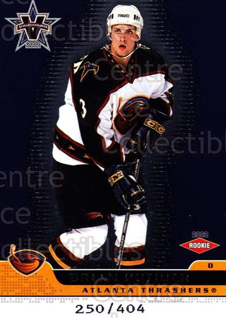 2001-02 Vanguard #104 Brian Pothier<br/>3 In Stock - $5.00 each - <a href=https://centericecollectibles.foxycart.com/cart?name=2001-02%20Vanguard%20%23104%20Brian%20Pothier...&price=$5.00&code=99968 class=foxycart> Buy it now! </a>
