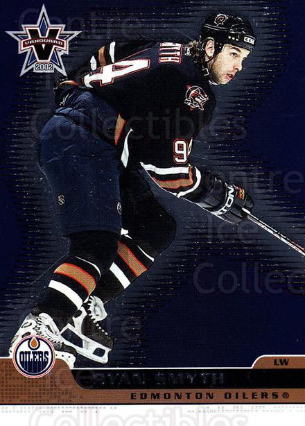 2001-02 Vanguard #41 Ryan Smyth<br/>11 In Stock - $1.00 each - <a href=https://centericecollectibles.foxycart.com/cart?name=2001-02%20Vanguard%20%2341%20Ryan%20Smyth...&quantity_max=11&price=$1.00&code=99997 class=foxycart> Buy it now! </a>